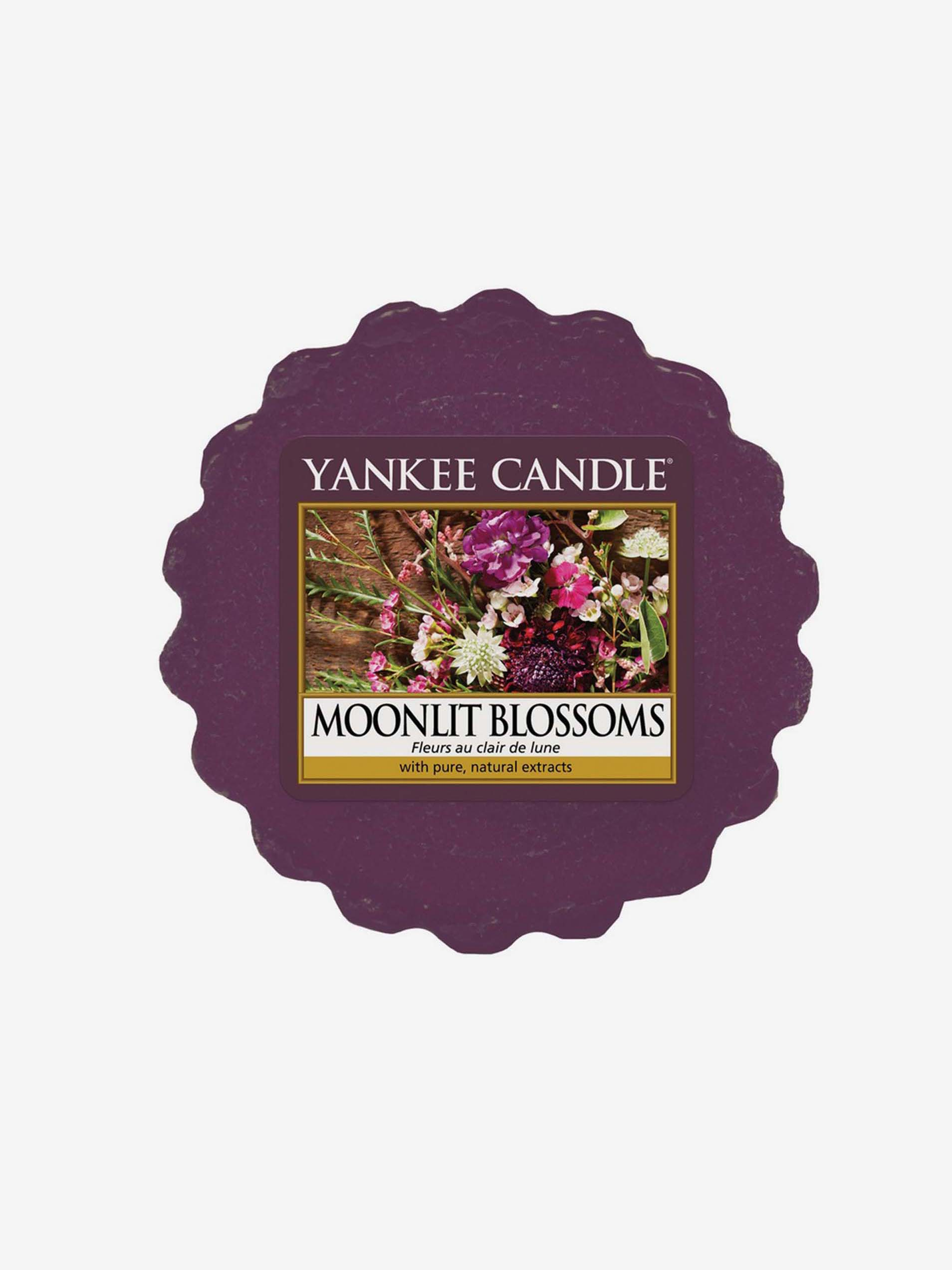 Yankee Candle purple fragrant aroma lamp wax Moonlit Blossoms