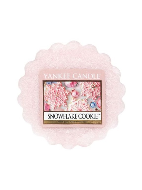 Yankee Candle pink fragrant aroma lamp wax Snowflake Cookie