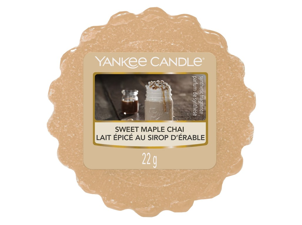 Yankee Candle beige fragrant aroma lamp wax Sweet Maple Chai