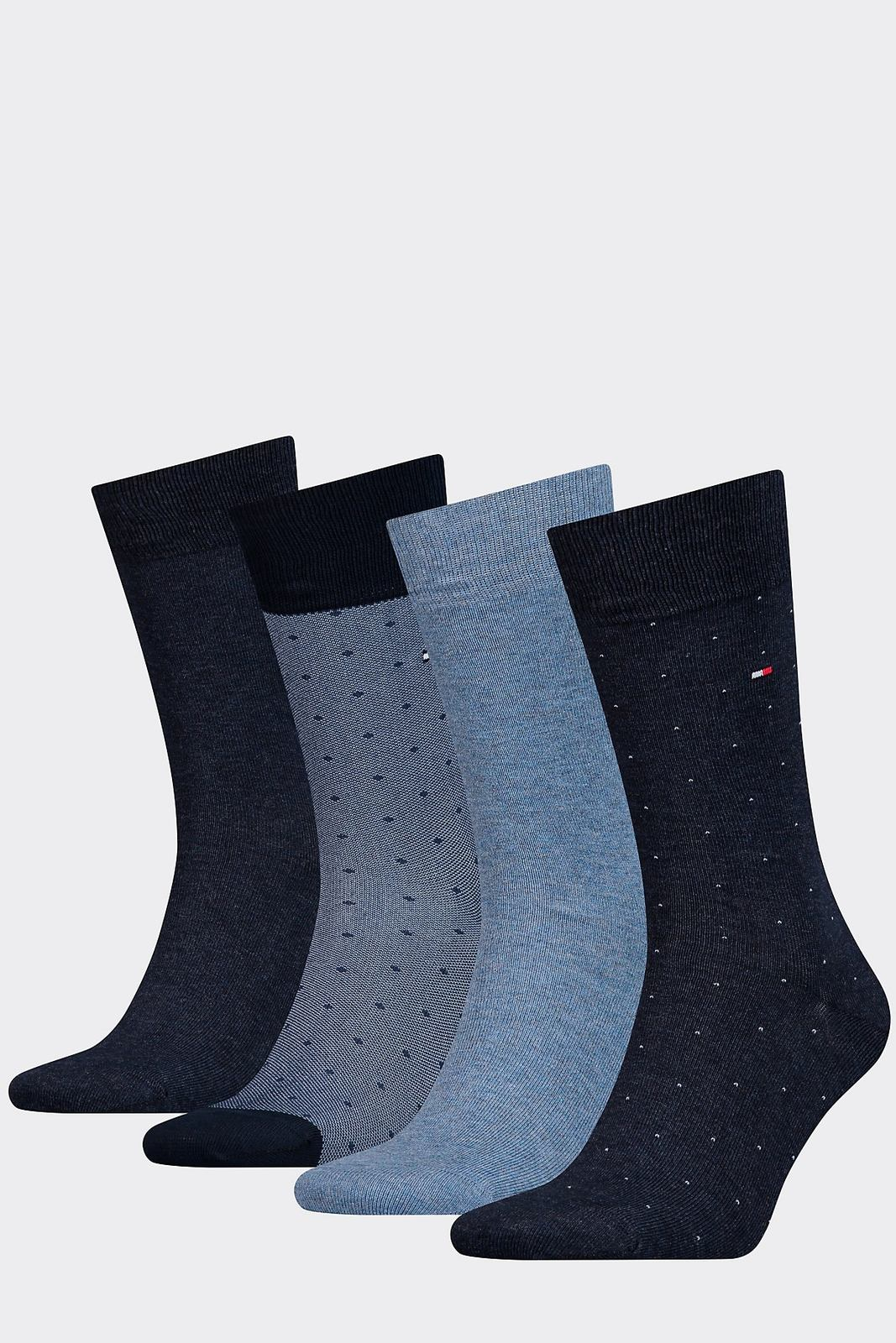 Tommy Hillfiger Mens 6 Pairs Mixed Socks Gift Boxed