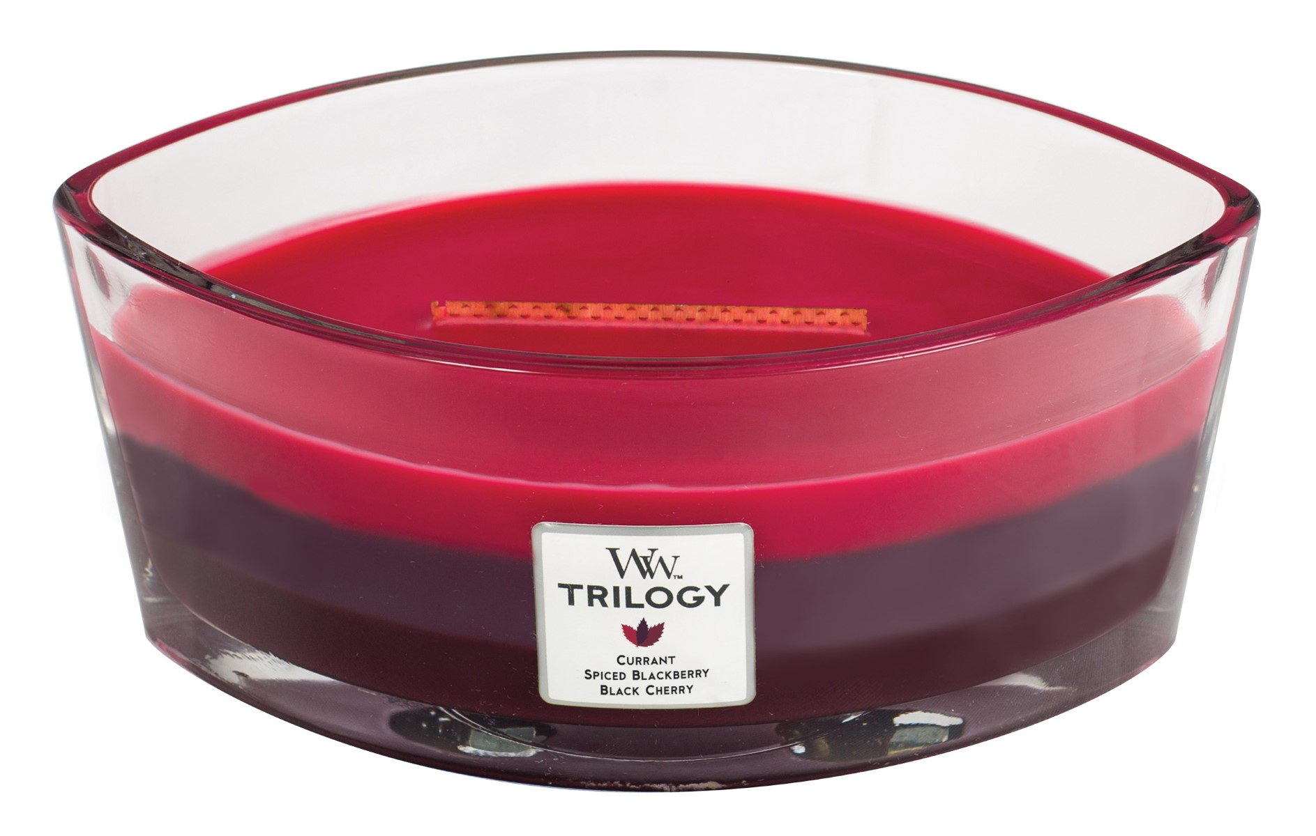 fragrant candle Trilogy Sun Ripened Berries ship
