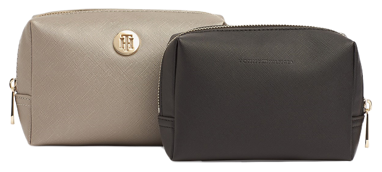 Tommy Hilfiger grey cosmetic bag Honey 2 in Washbag Metallic