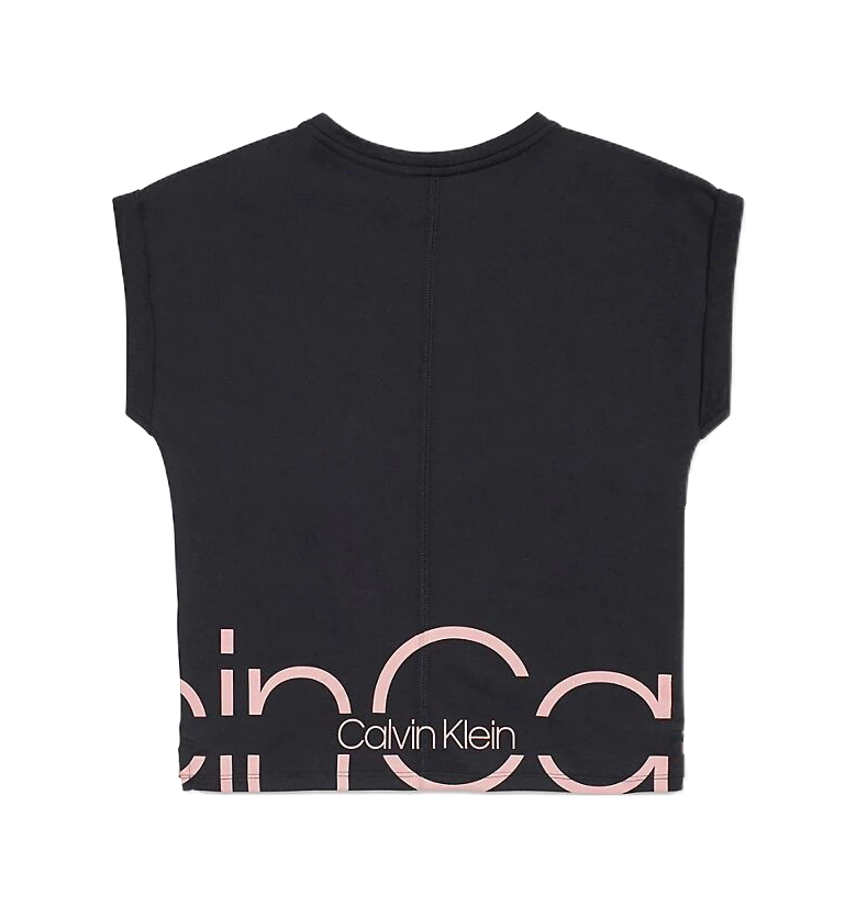 Calvin Klein black girls´ t-shirt Slouchy Top
