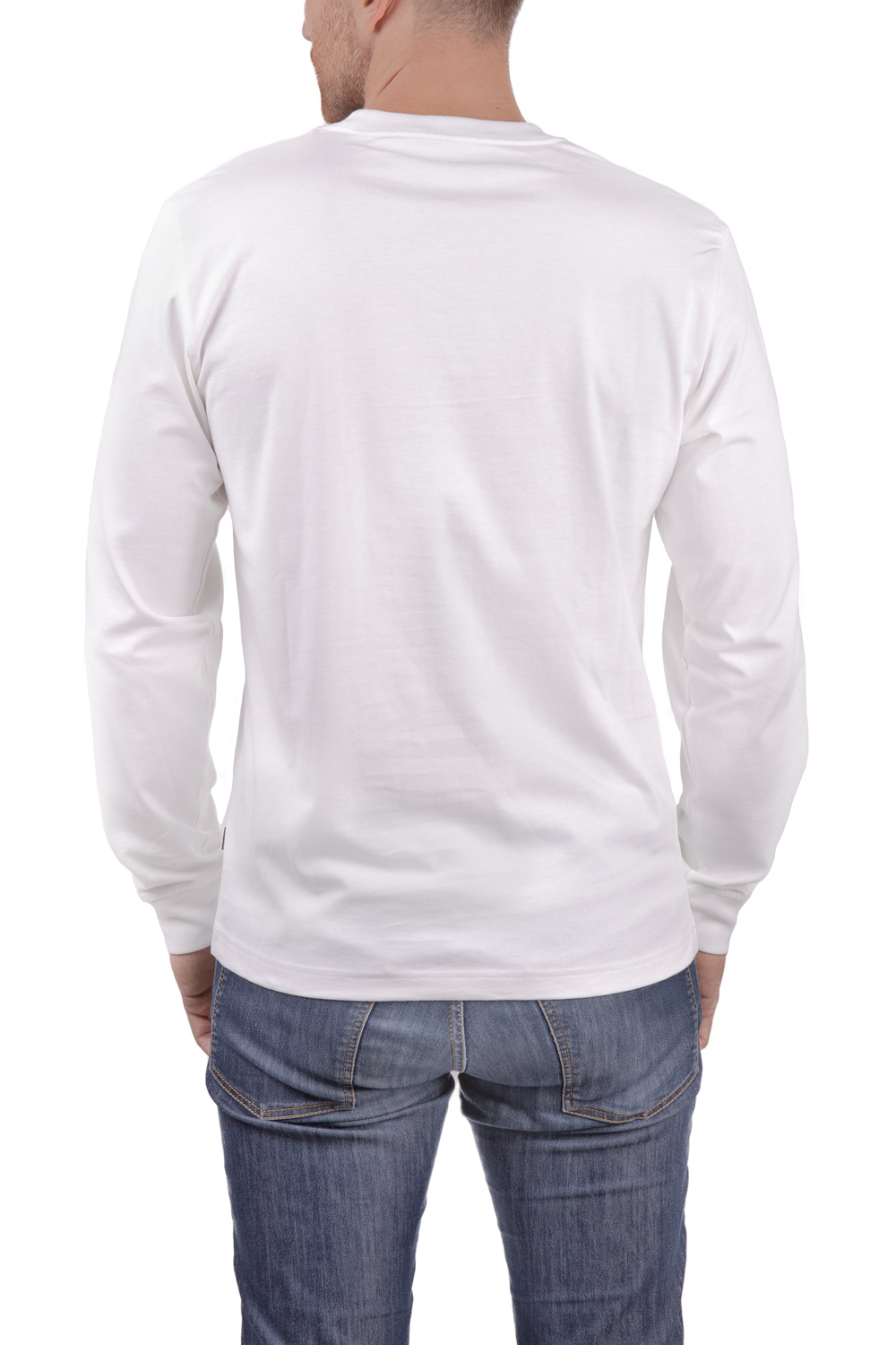 Converse white men´s t-shirt Erx Ls tee