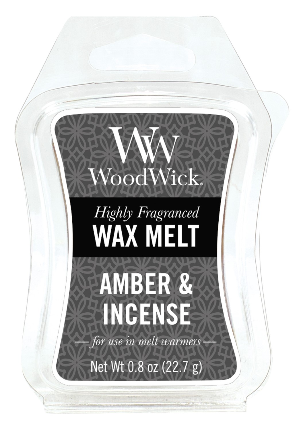 WoodWick fragrant aroma lamp wax Amber & Incense