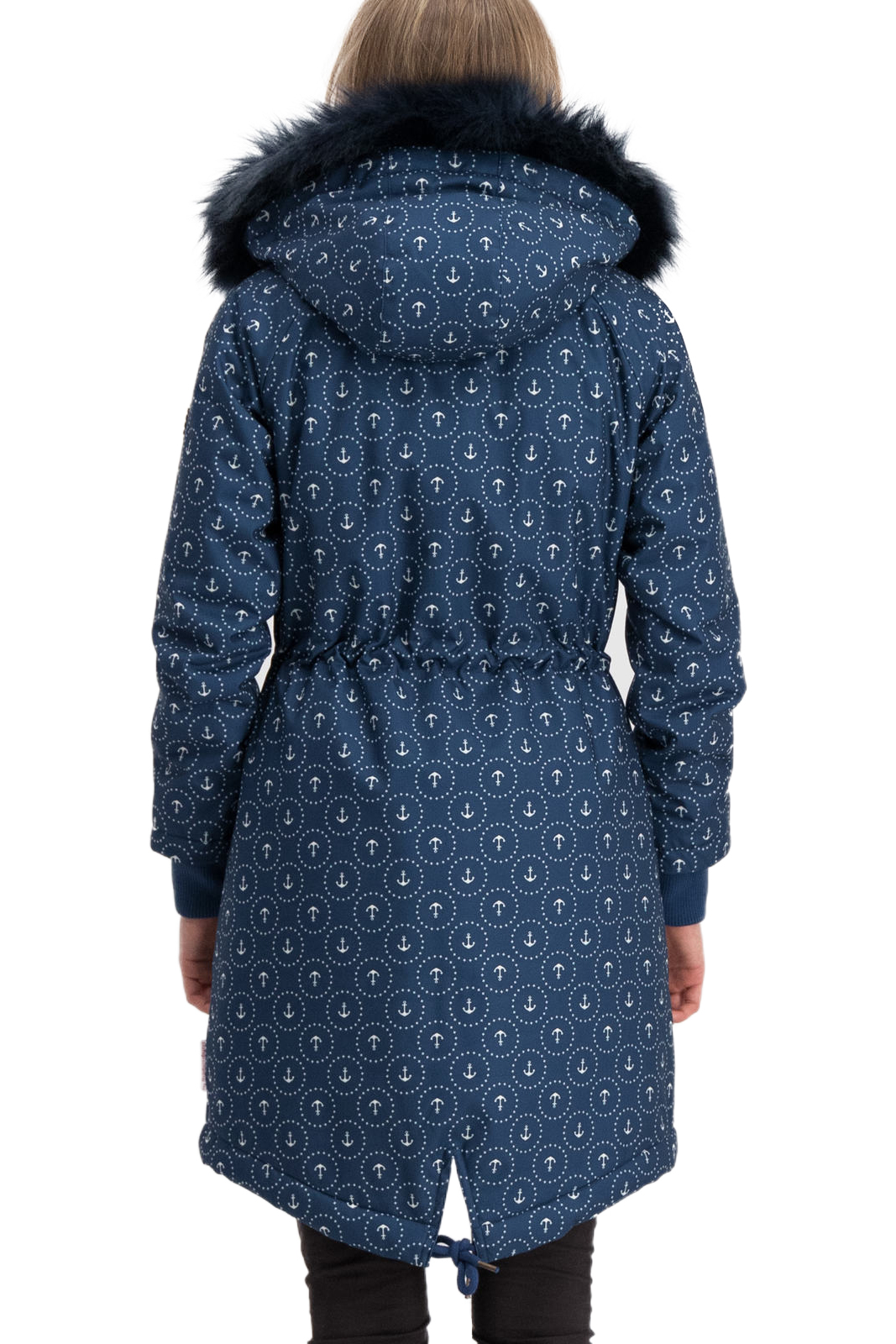 Blutsgeschwister blue Coats Winter Wonder Woods Parka Ahoi Anchor