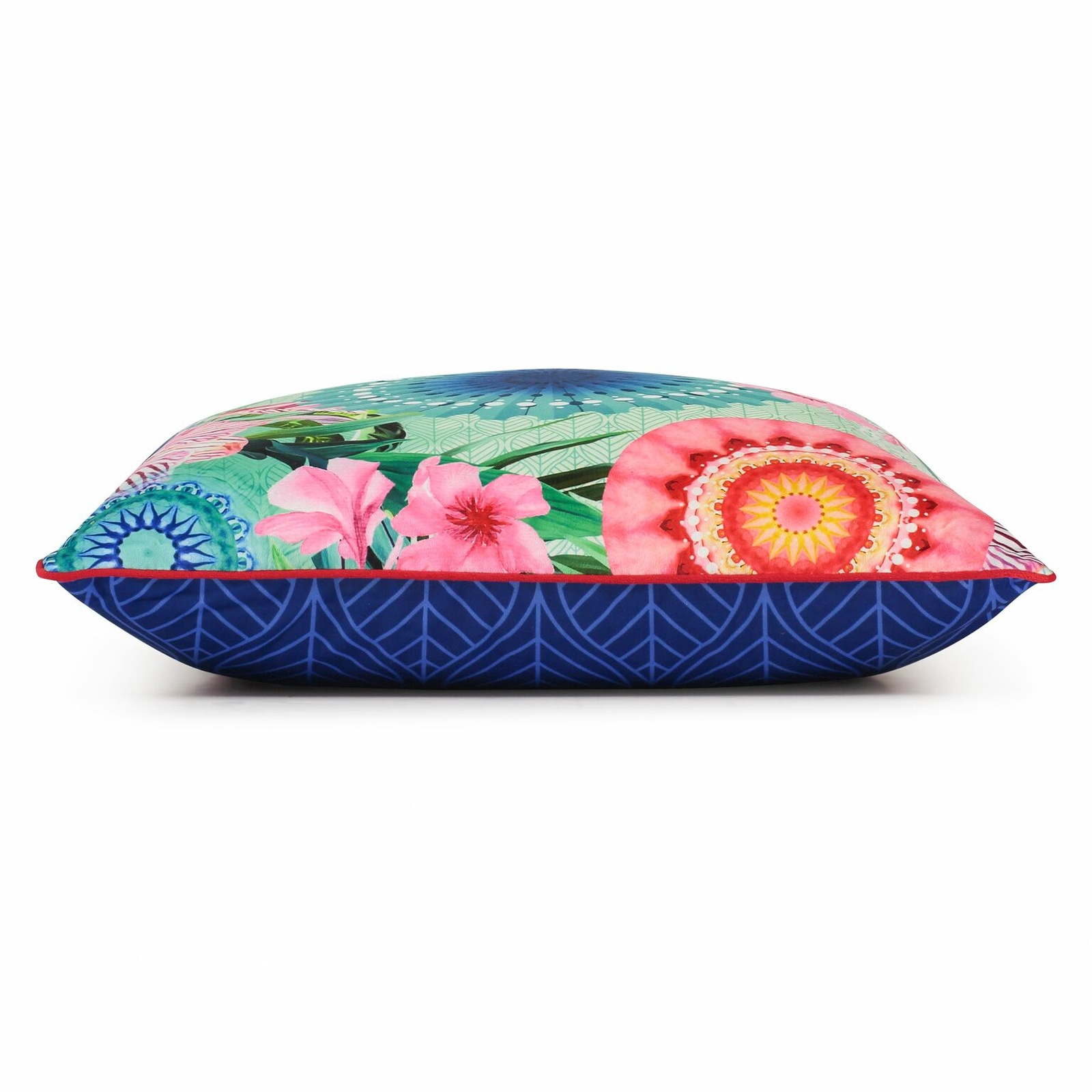 Home multicolor decorative pillow with stuffing Hip Fiorenza 48x48cm