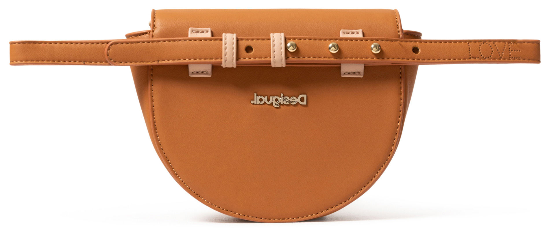 Desigual Beige-and-Brown 2in1 Bum Bag Rhapsody Nyon