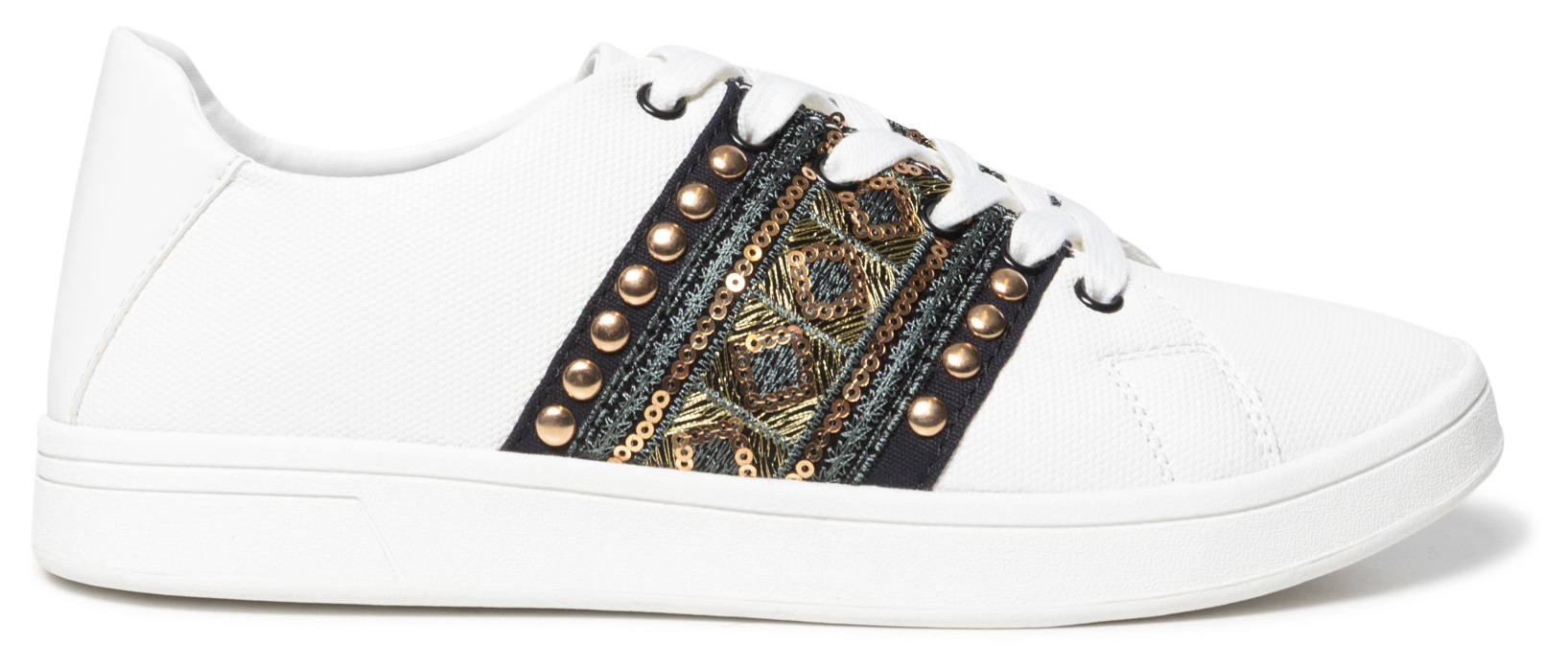 Desigual white sneakers Shoes Cosmic