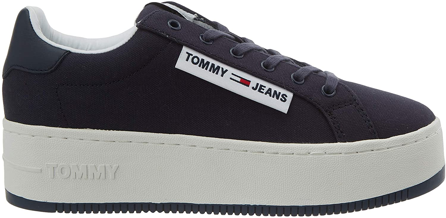Tommy Hilfiger blue sneakers with