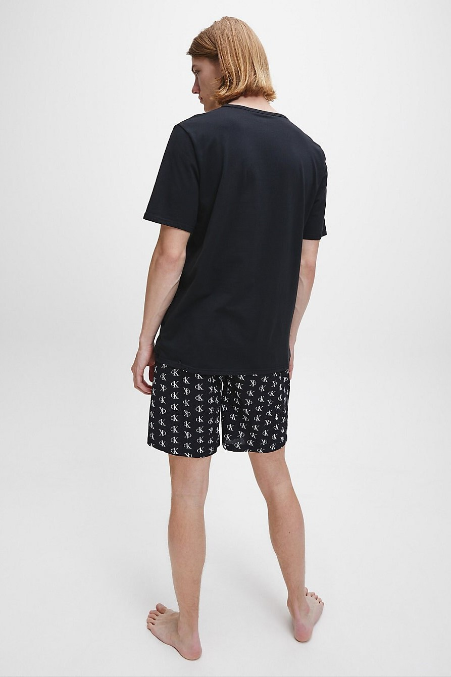 Calvin Klein black men´s t-shirt S/S Crew Neck