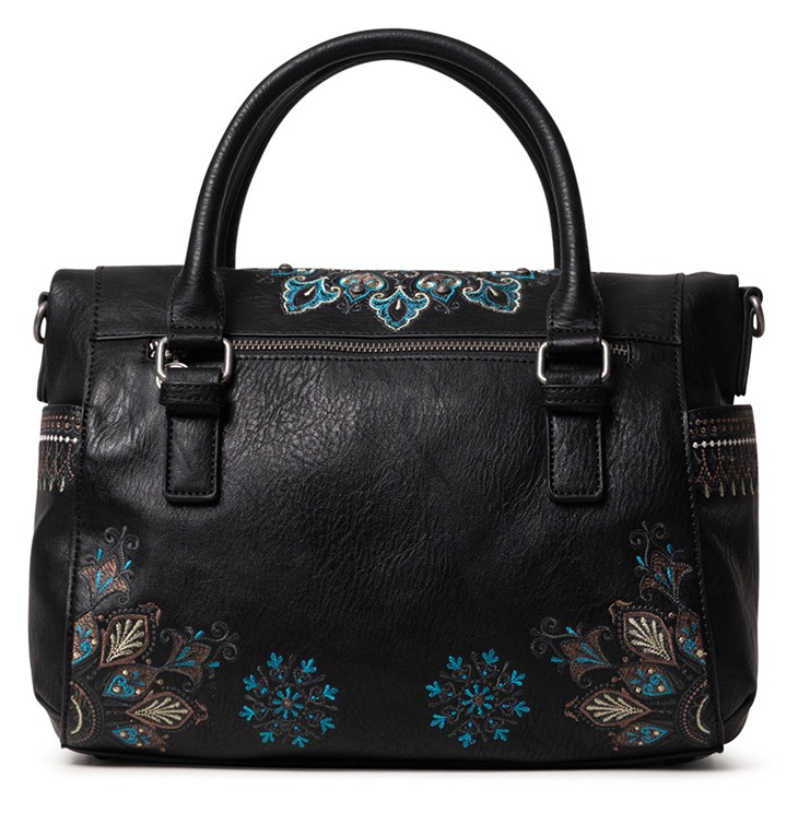Desigual green handbag Bols Deva Loverty