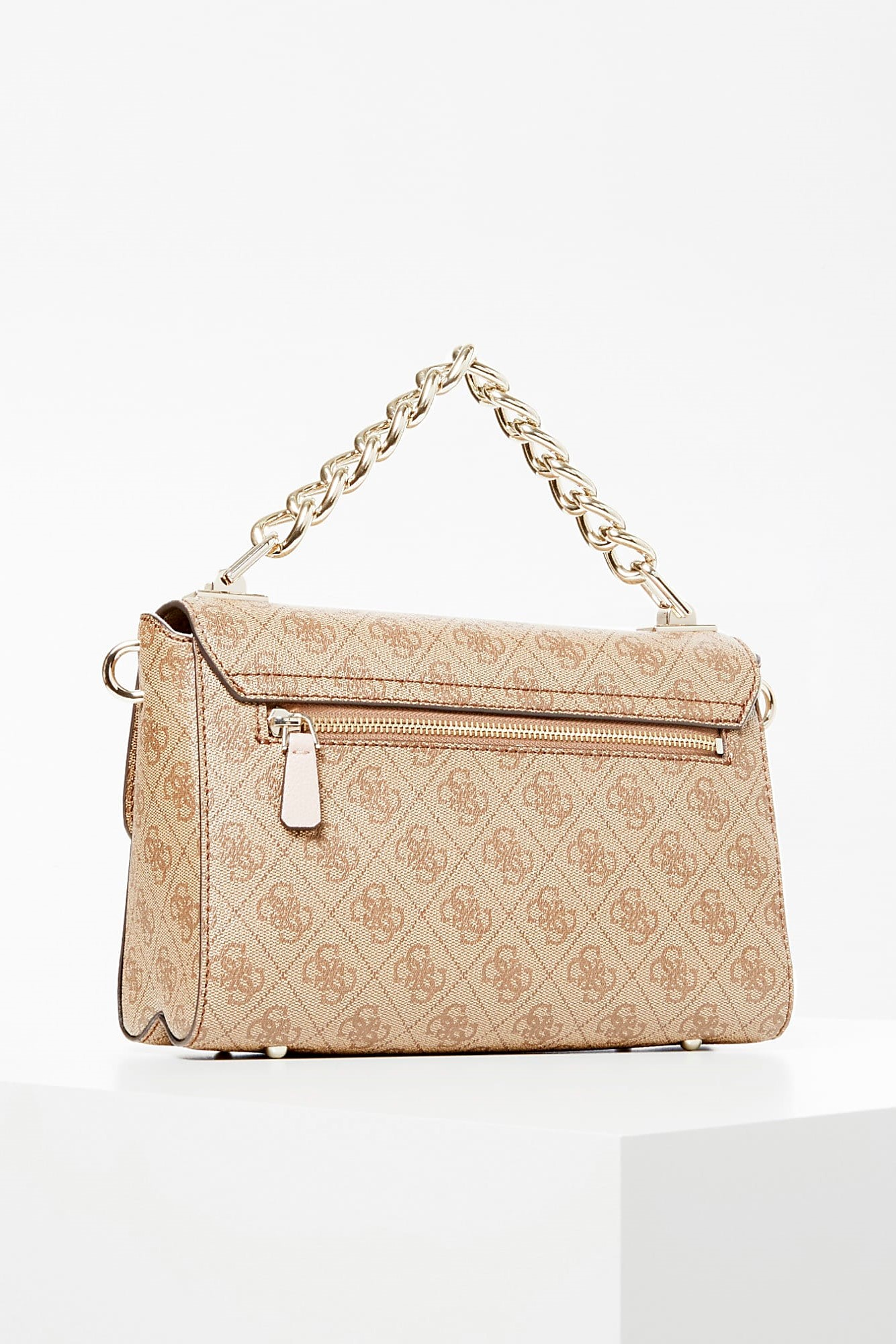 Guess beige crossbody Candace All-Over Logo