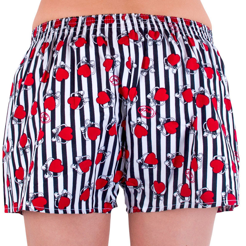 Styx multicolor women´s shorts with a rubber