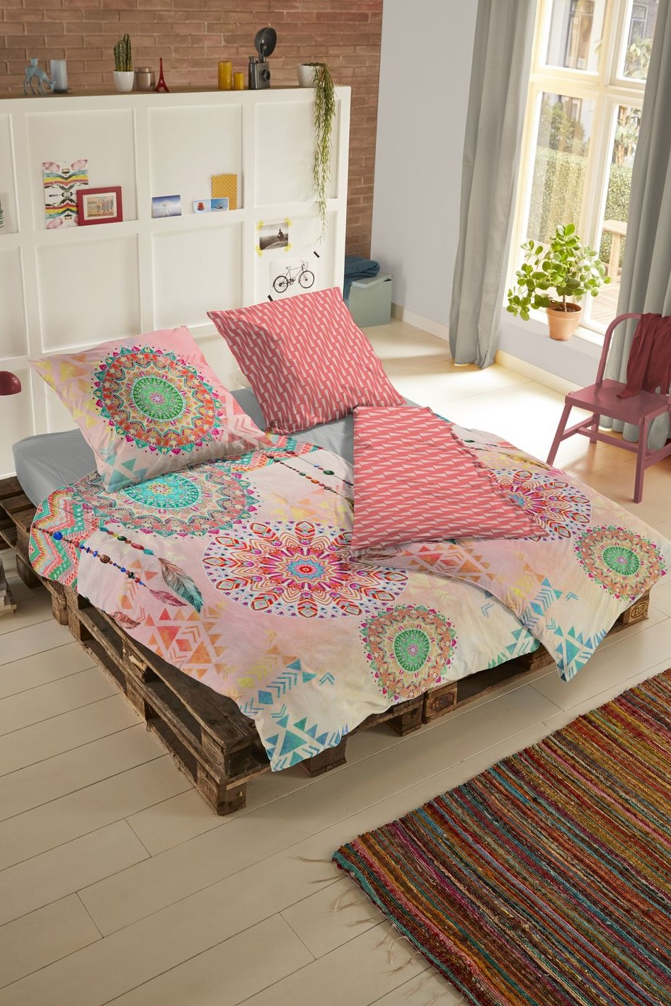 Home double-sided single bed bed linen Hip Vilstre 140x200cm
