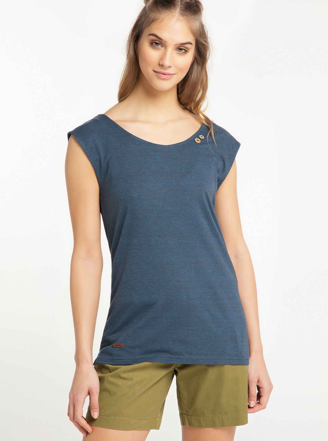 Dark blue women's Ragwear t-shirt