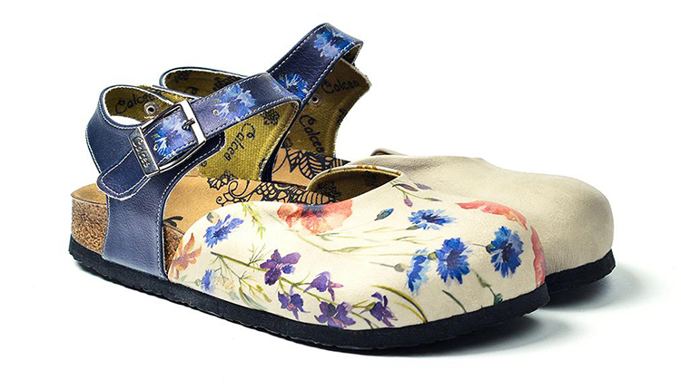 Calceo blue sandals Classic Sandals Wildflowers