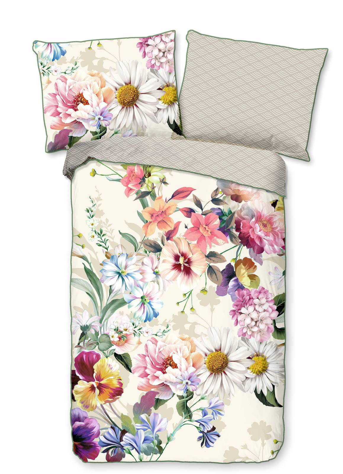 Home white double-sided single bed bed linen Novara 140x200cm