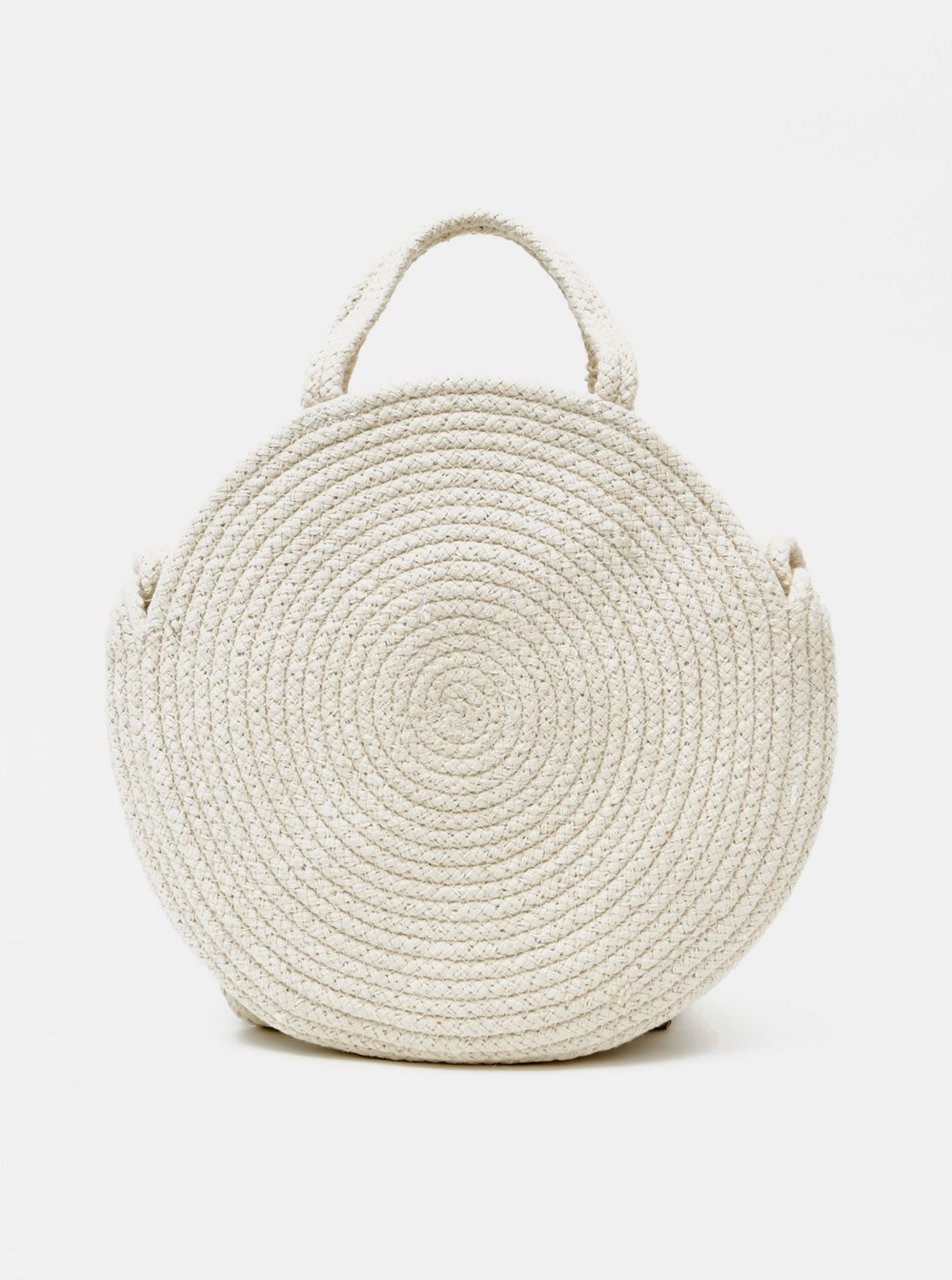 Pieces Nilo cream handbag