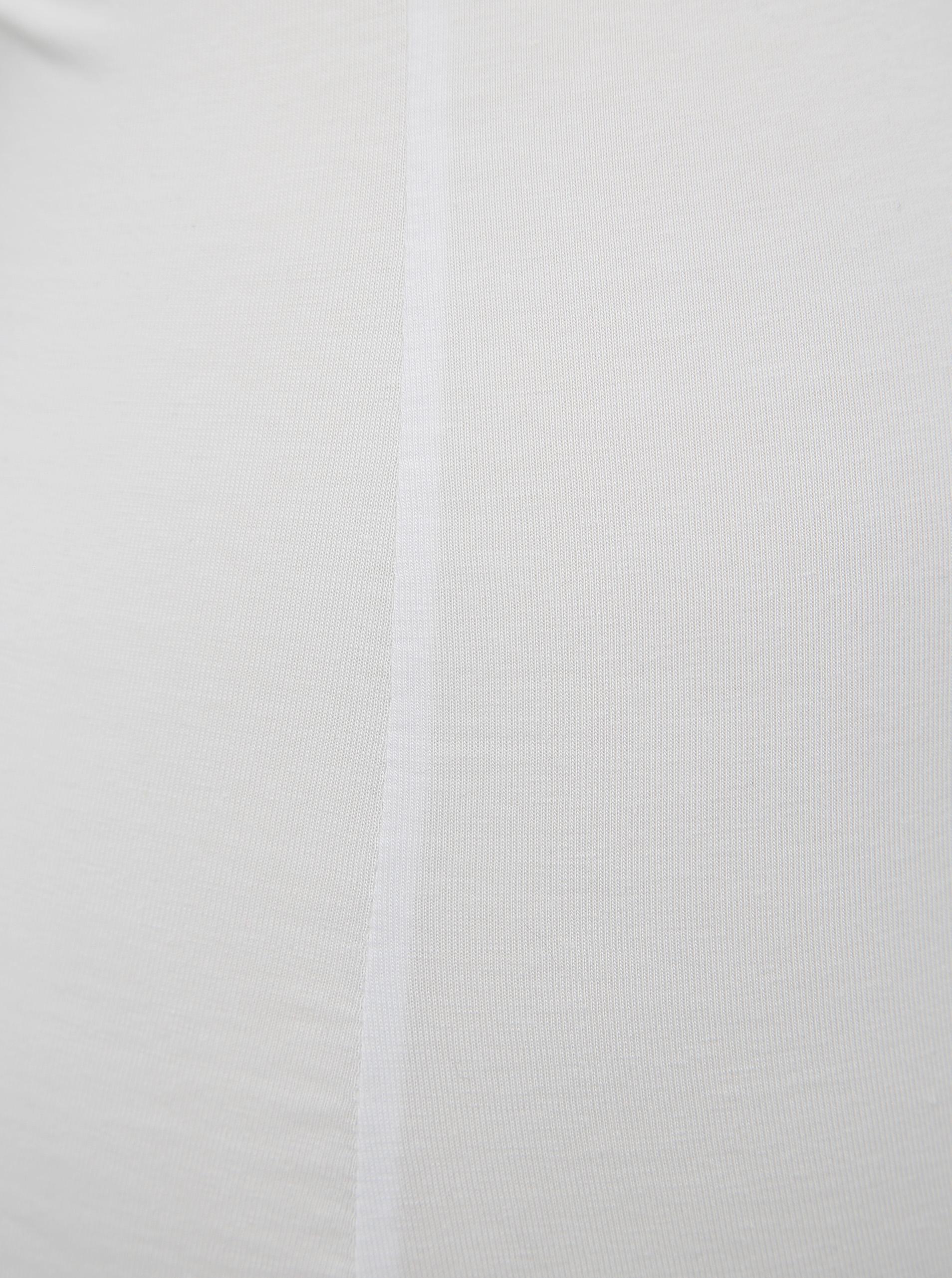 White tank top with lace VERO MODA Inge