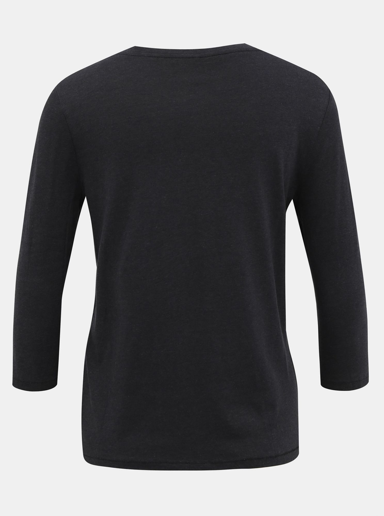 Black T-shirt with 3/4 sleeves ONLY Rosely