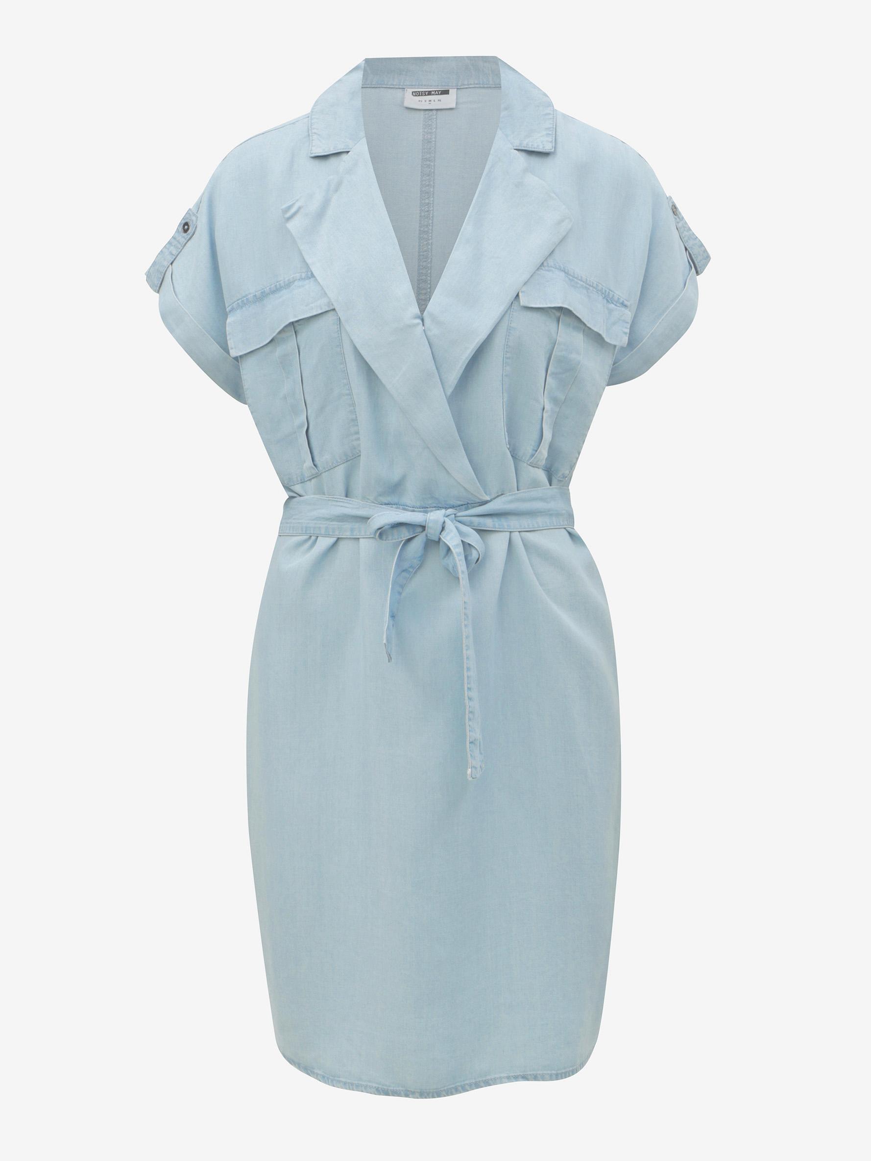 Light blue shirt dress Noisy May Vera