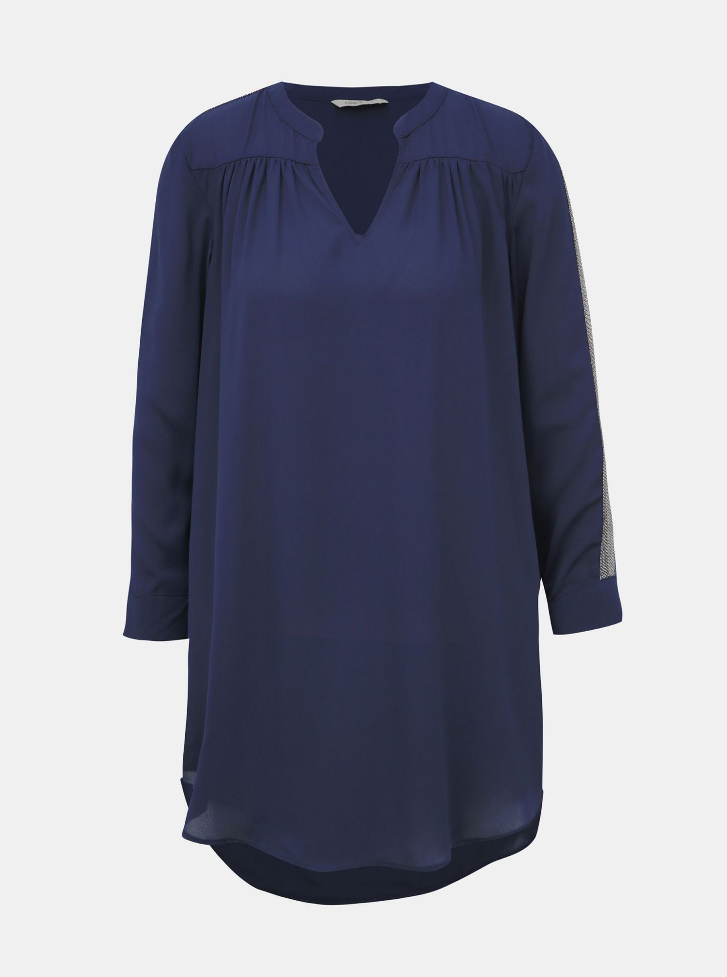 Dark blue loose blouse ONLY Timca