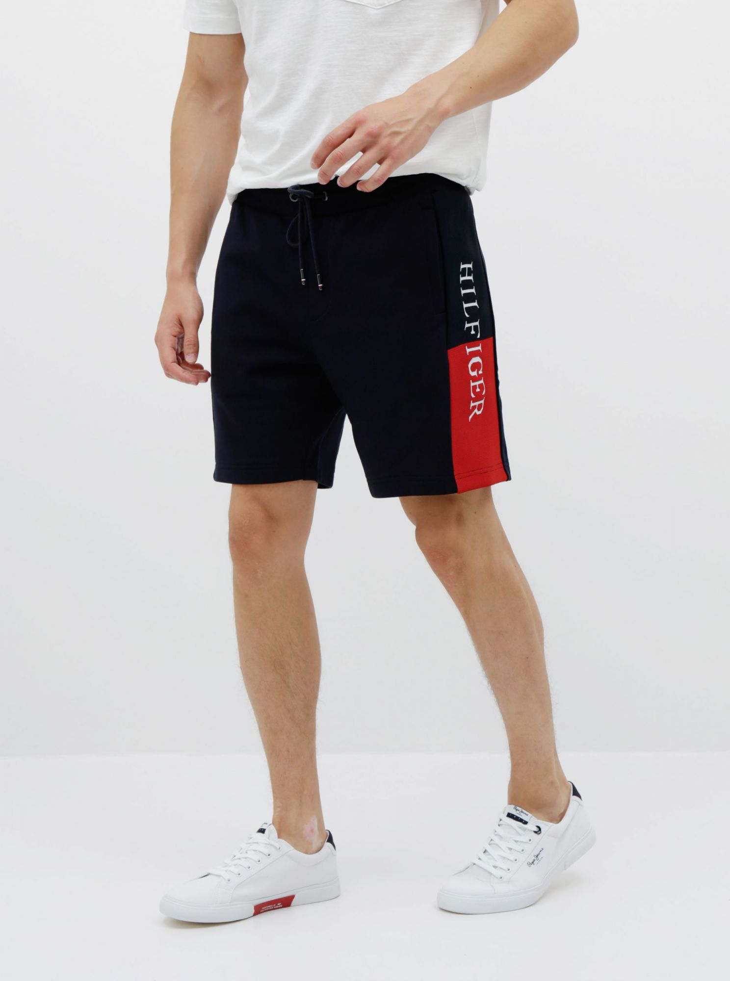 Tommy Hilfiger blue tracksuit men´s shorts