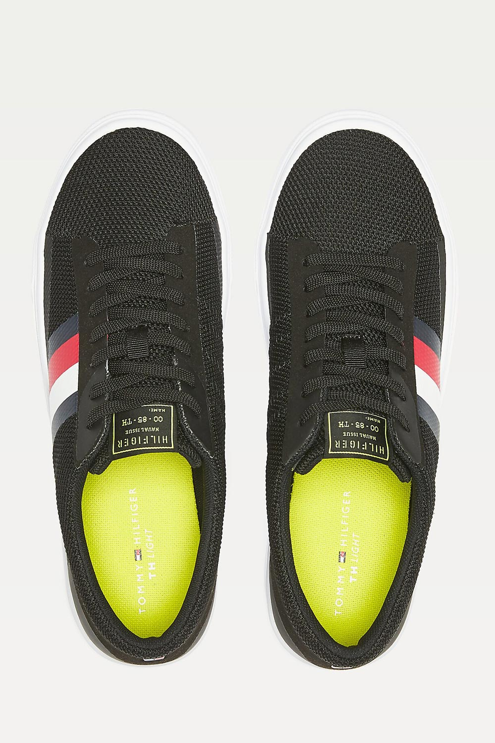 Tommy Hilfiger black sneakers Lightweight Signature colour-Blocked Trainers