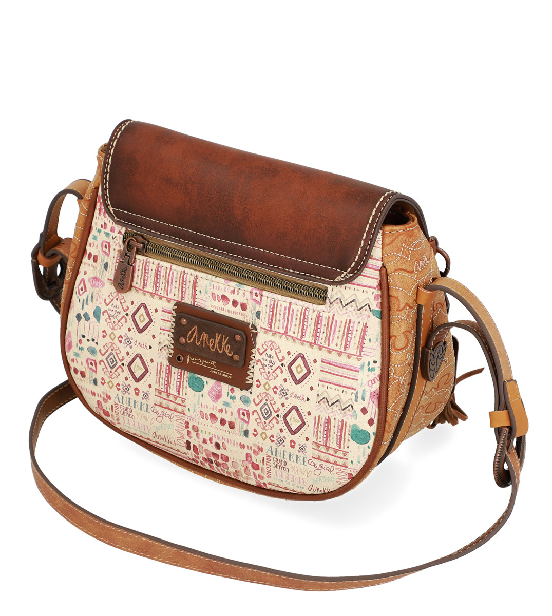 Anekke brown crossbody handbag Arizona