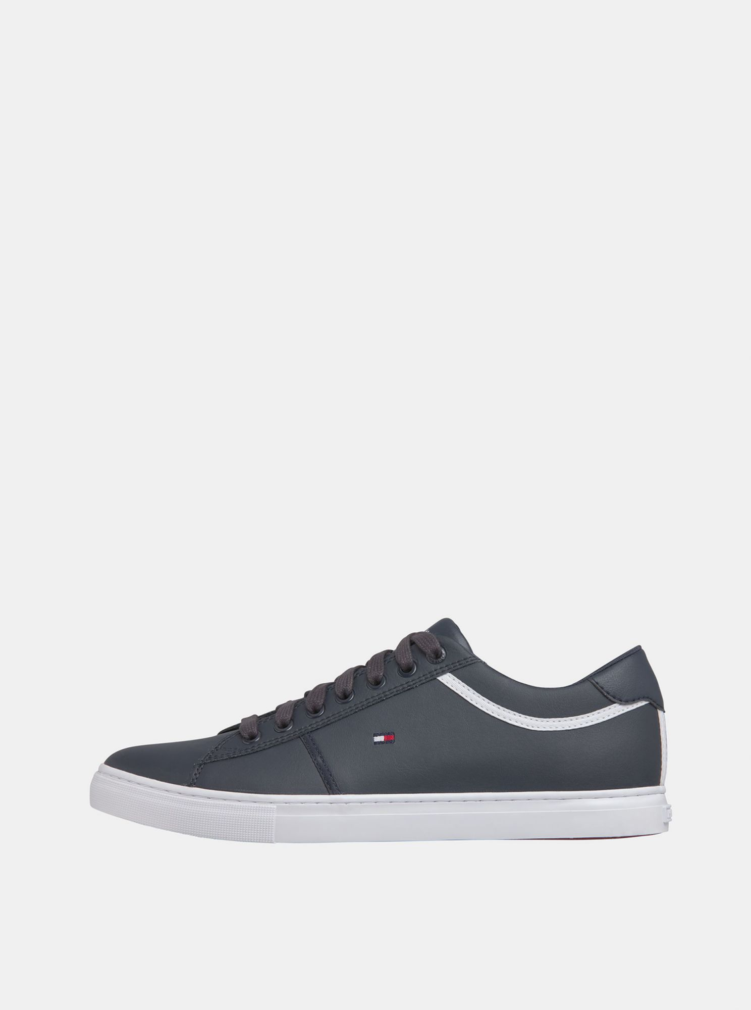 Tommy Hilfiger blue men´s leather sneakers