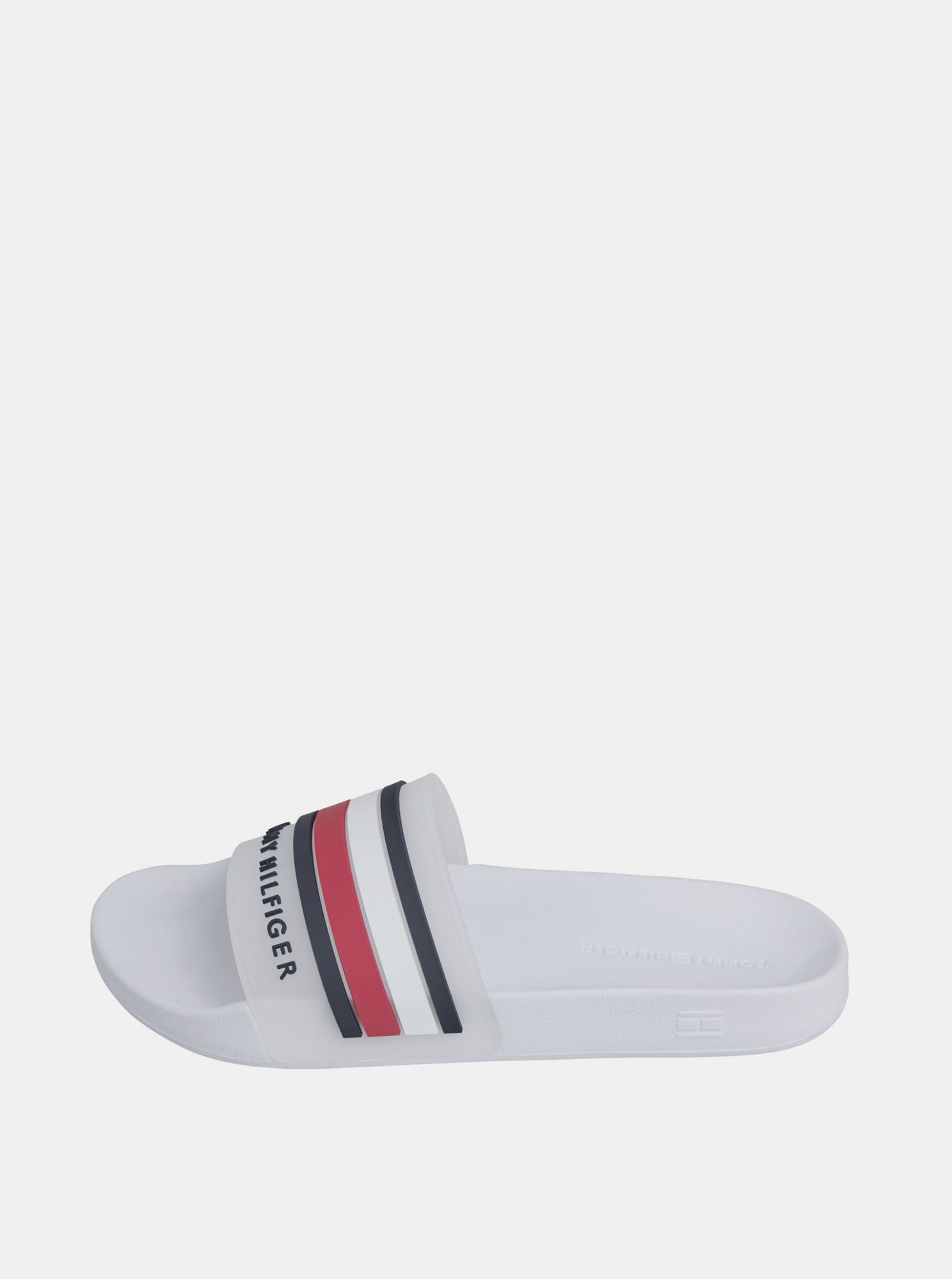 Tommy Hilfiger white men´s slippers