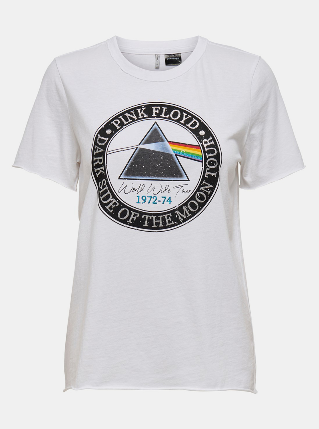 White T-shirt ONLY Pink Floyd