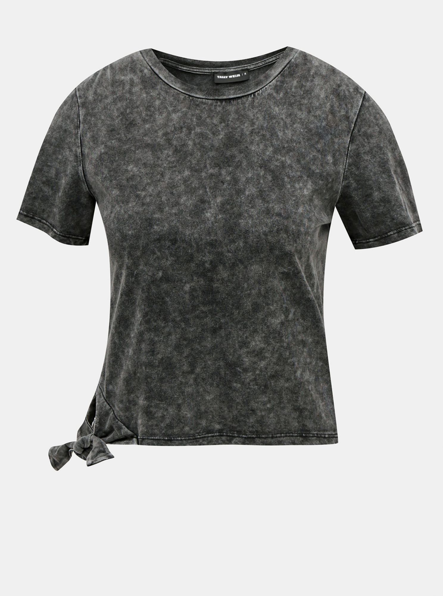 Gray short T-shirt TALLY WEiJL