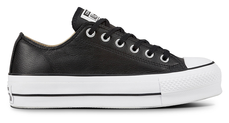 chuck taylor all star black leather