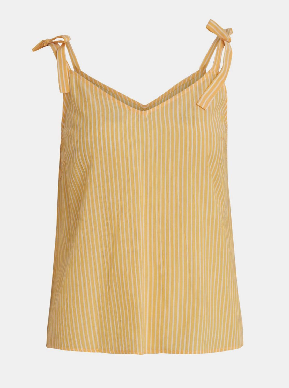Yellow striped top VILLA Binni