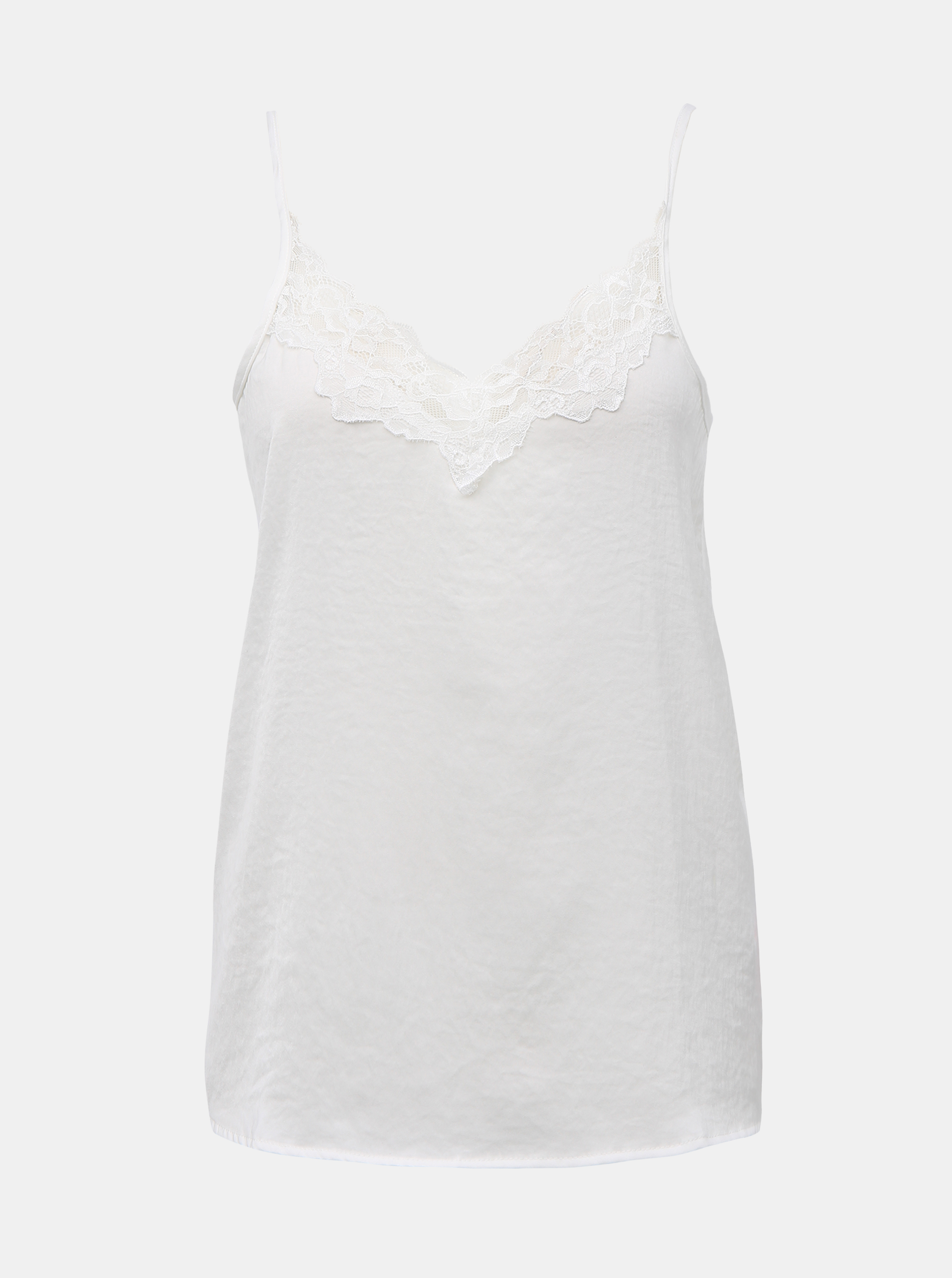 White lace top with Jacqueline de Yong Appa