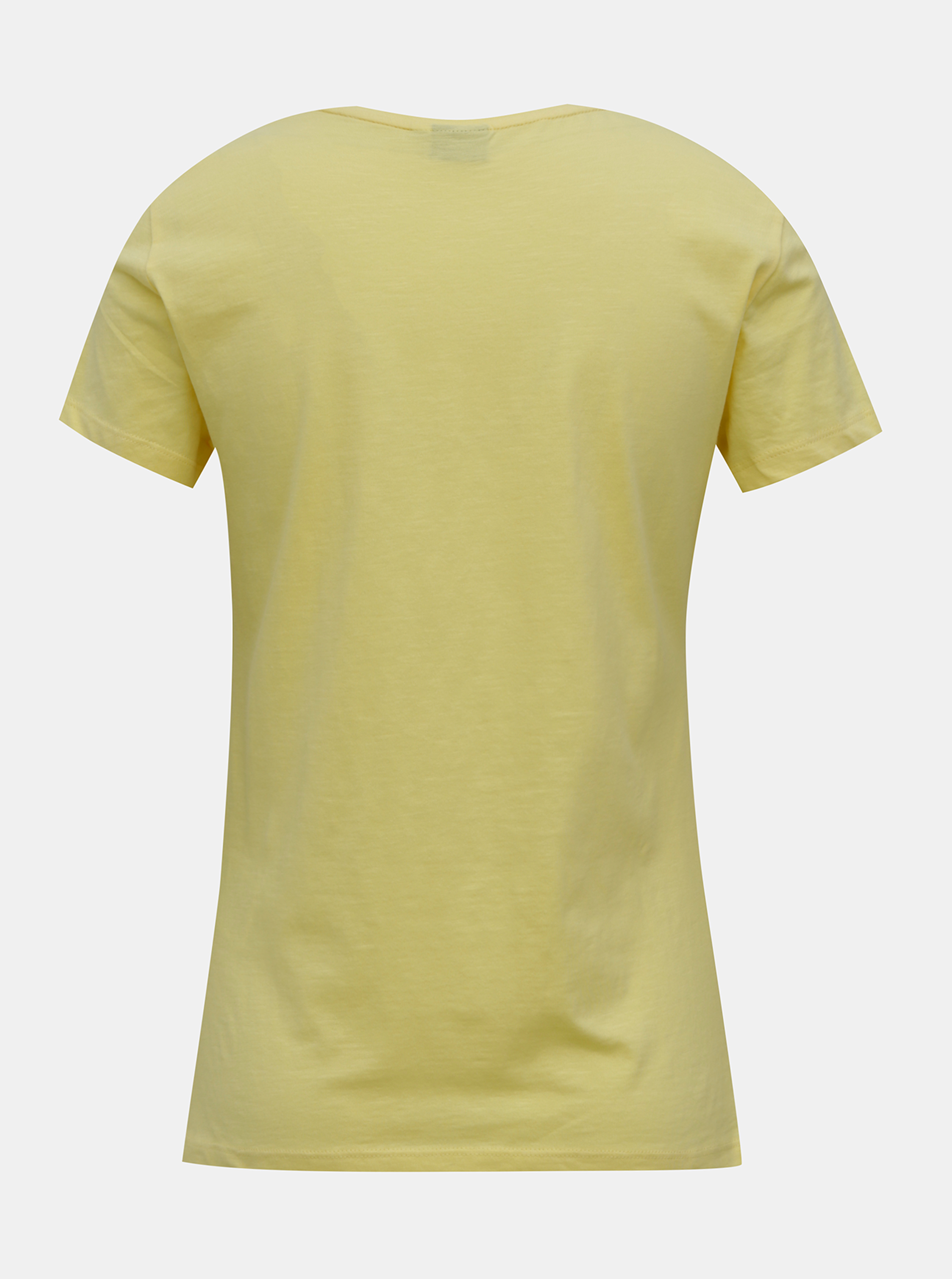 Yellow T-shirt with ONLY Peanuts print