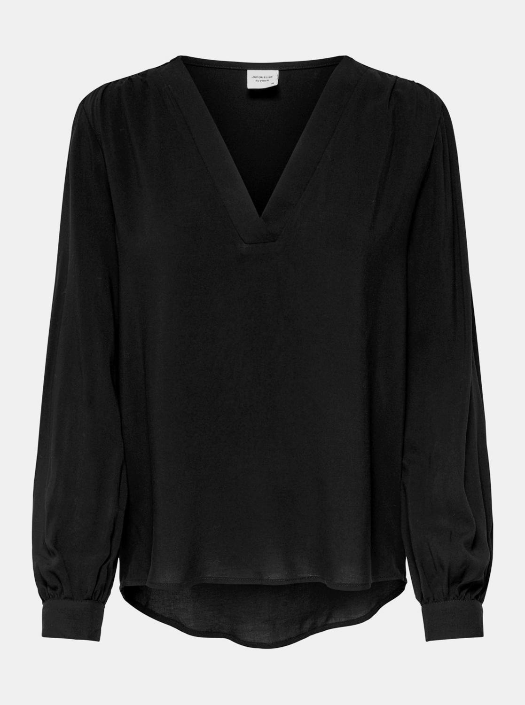 Black loose blouse Jacqueline de Yong Aros