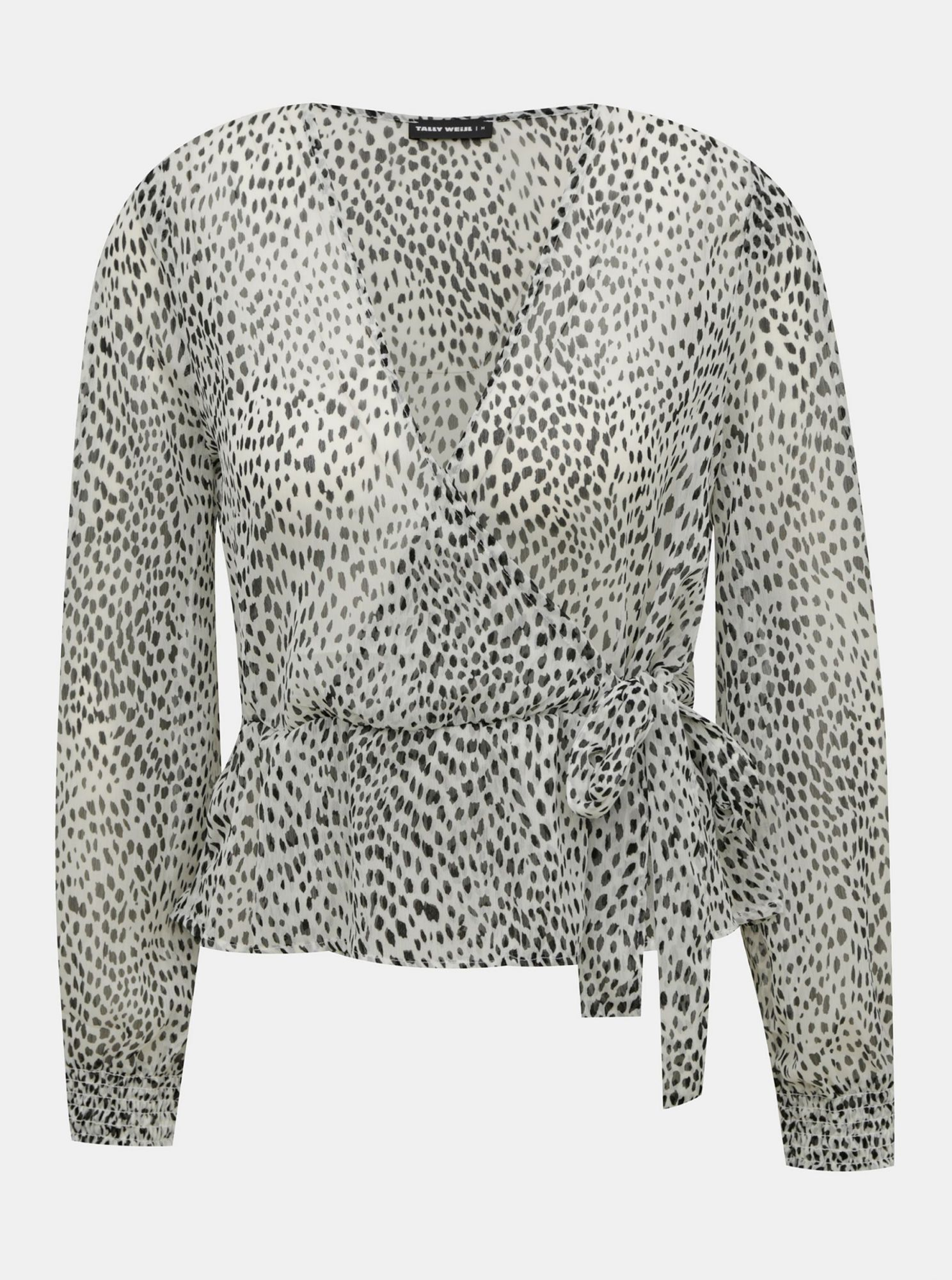 White patterned blouse TALLY WEiJL