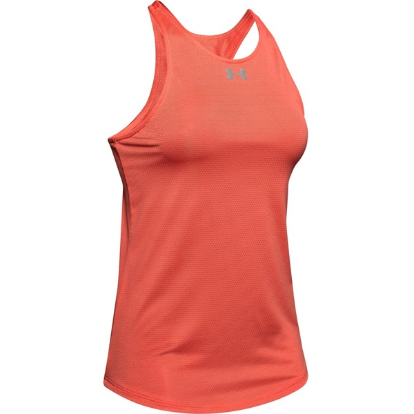 Top Under Armour Qualifier Tank-Red