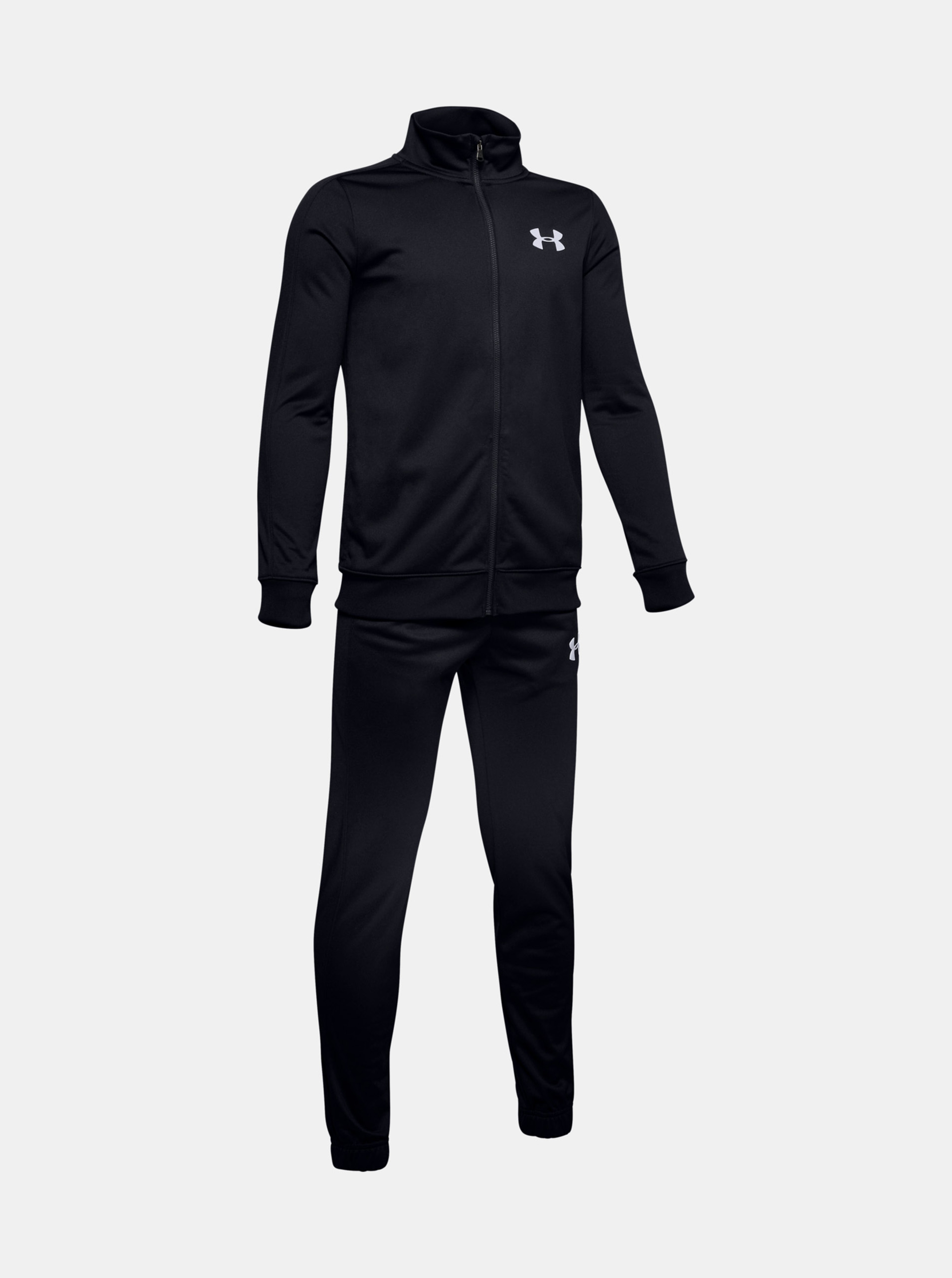 Details about  /Under Armour Tracksuit 1//4 Zip grey//black Long Sleeve Fitted Bnwt Small 69.99
