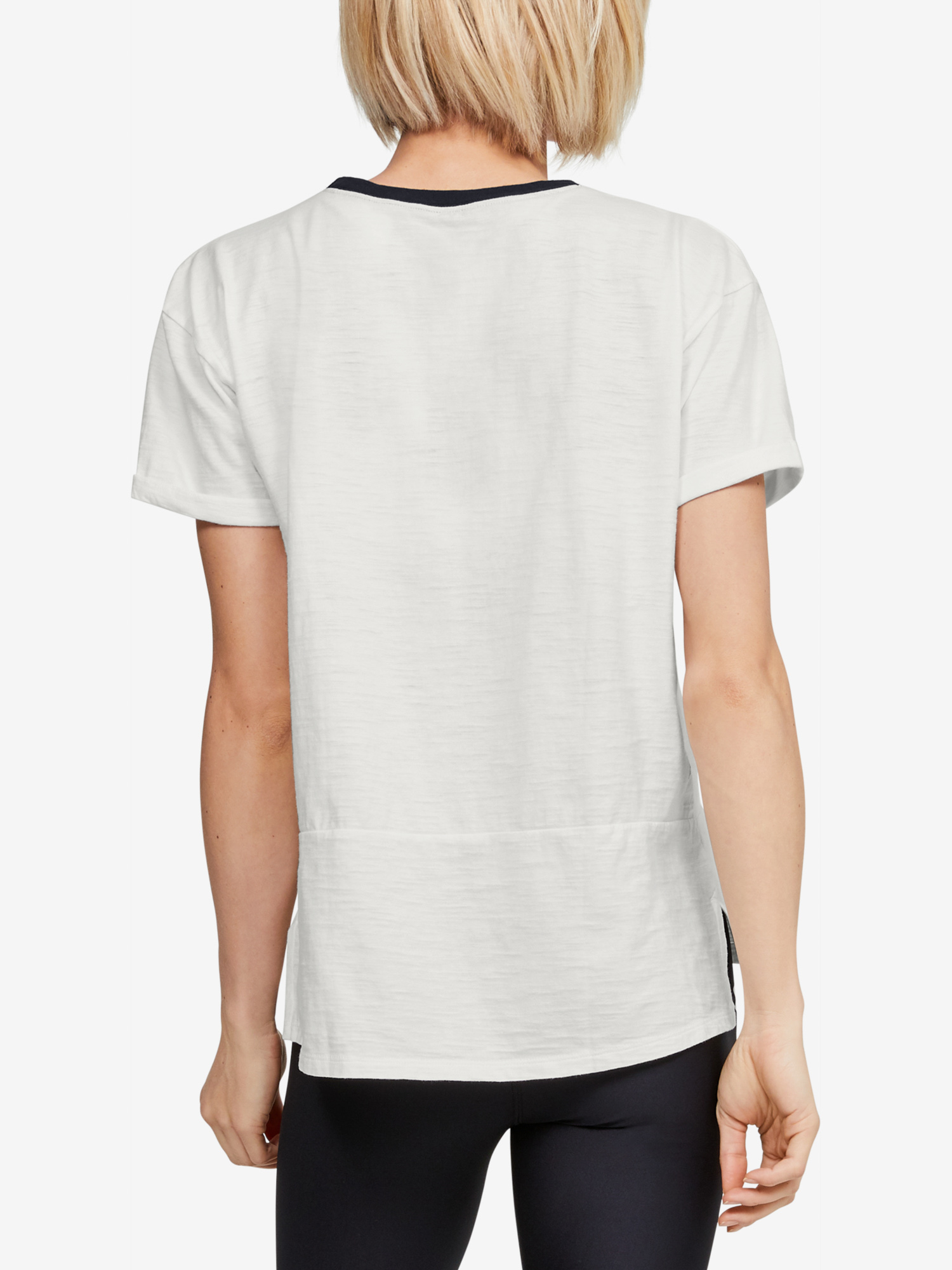 T-shirt Under Armour Charged Cotton SS-WHT
