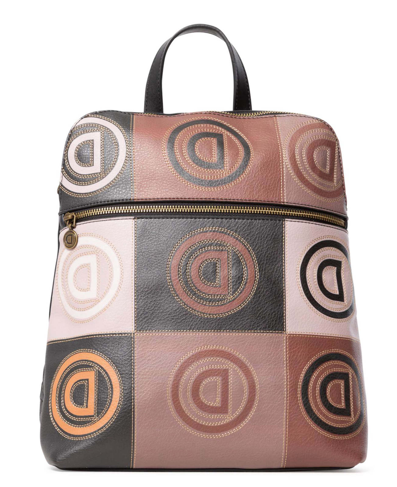 Desigual beige backpack Back Logo Patch Nanaimo