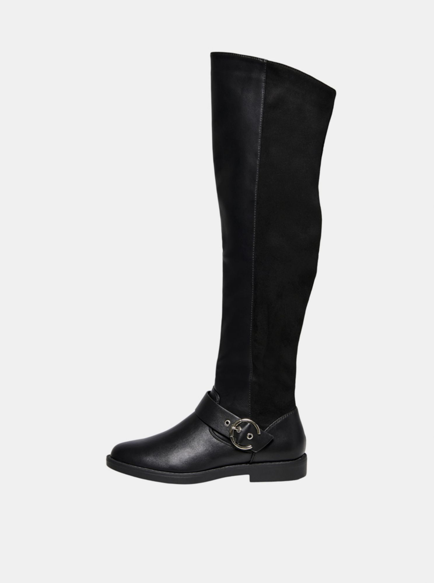 Black boots ONLY Tyra