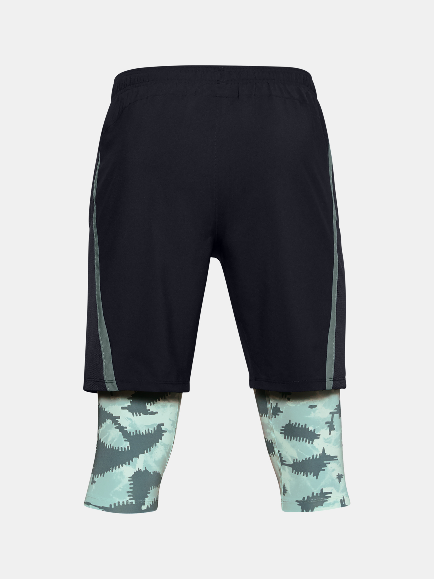M UA Launch SW Long 2-in-1 Printed Short