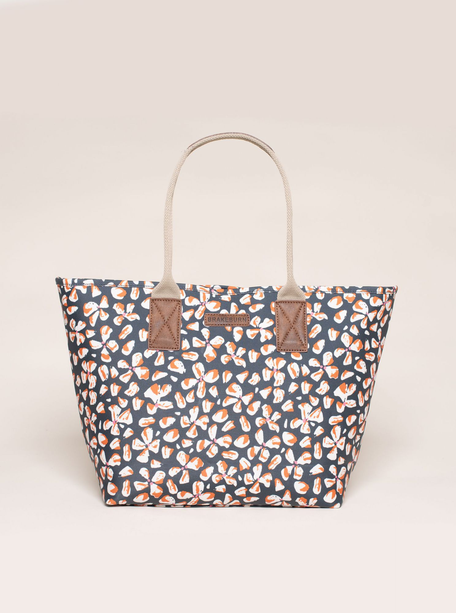 Blue flowered Brakeburn handbag