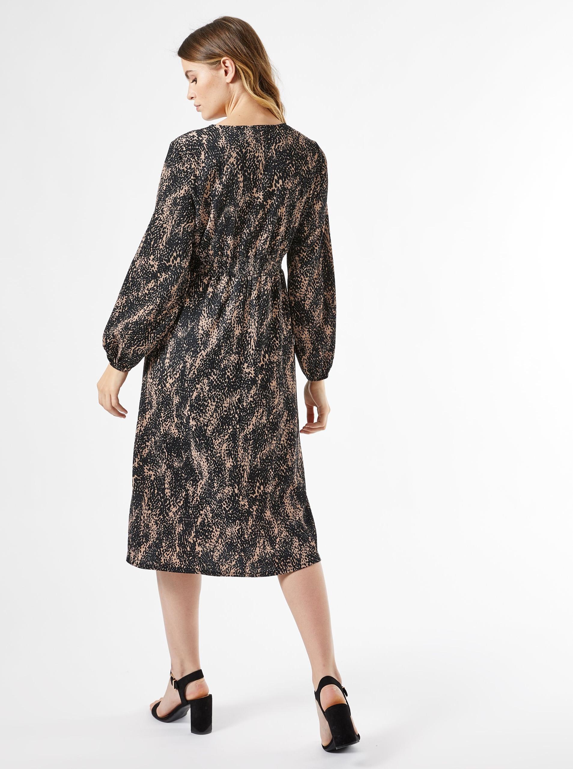 Dorothy Perkins' black patterned dress