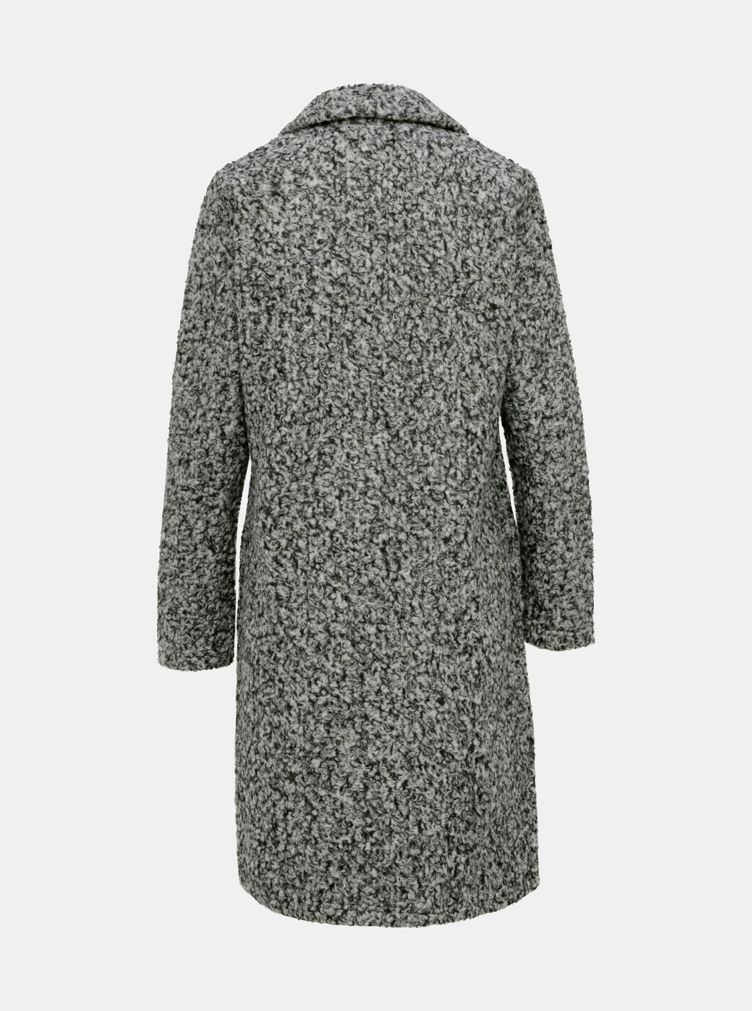 Gray coat Jacqueline de Yong Loopy