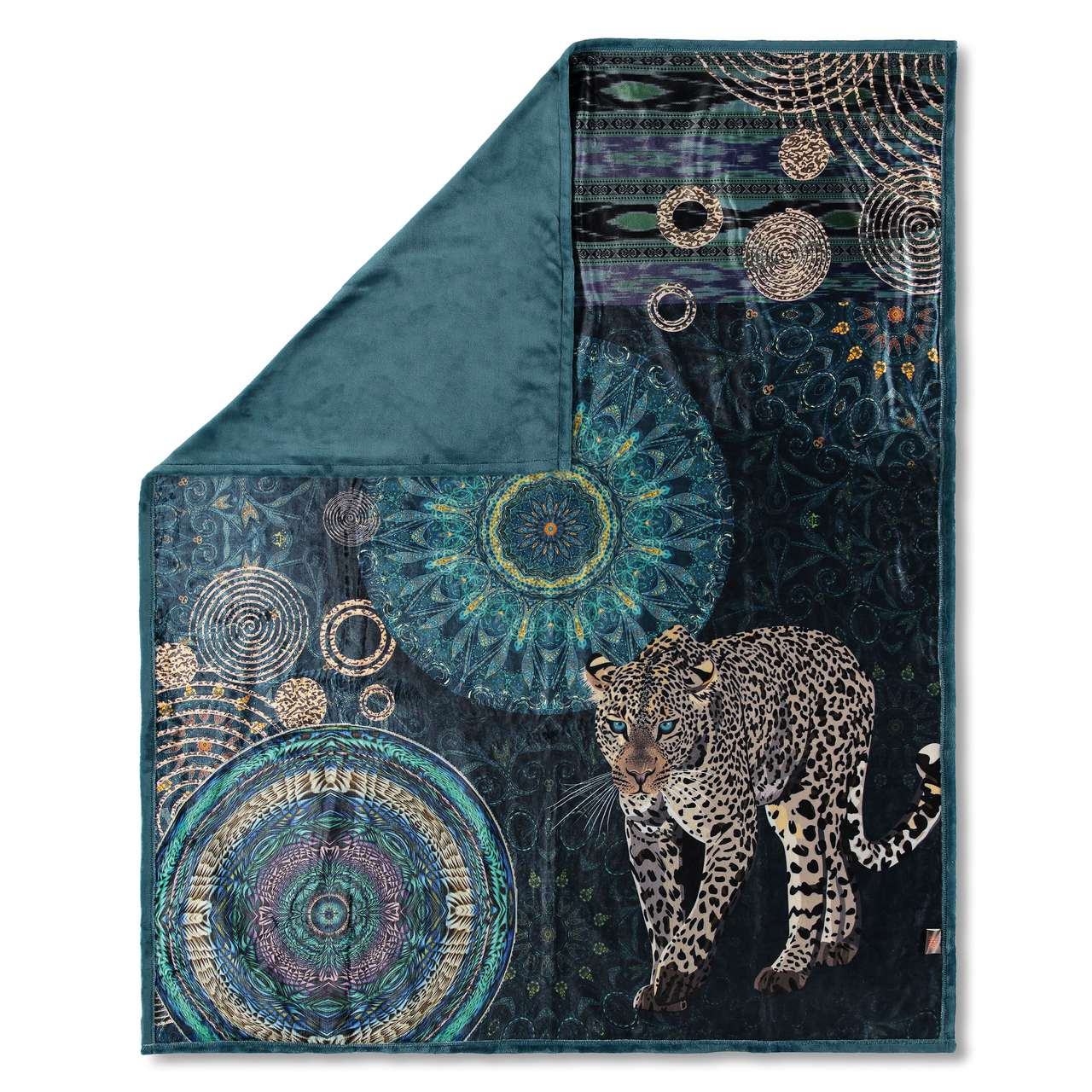 Home petroleum double-sided blanket Hip Imena 130x160 cm